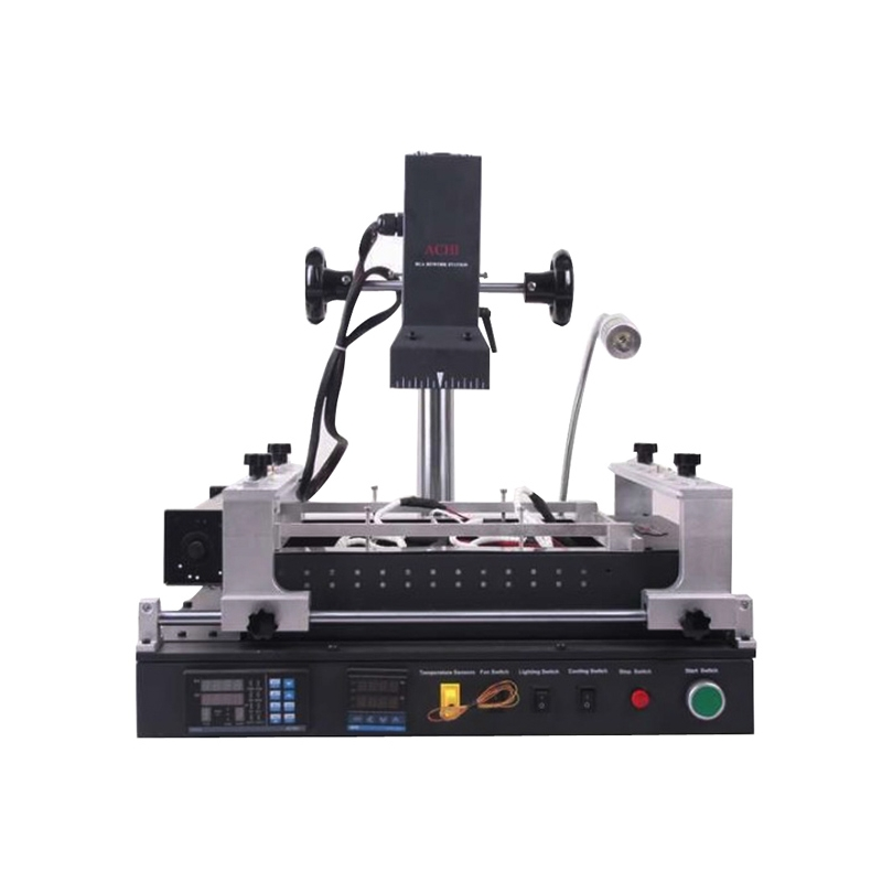 ACHI IR PRO SC BGA infravermelho Estação de Retrabalho De Solda com 119 pcs stencils aquecimento direto bga reballing kits