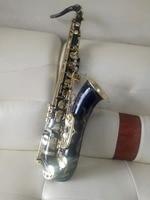 Новый черный Никель золото Франция 802 тенор высокое качество B плоским тенор саксофон