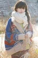 Autumn New Arrival Stylish Best Selling Bat Sleeve Skull Printed Long Sleeve Knitting Cardigan Free Shipping