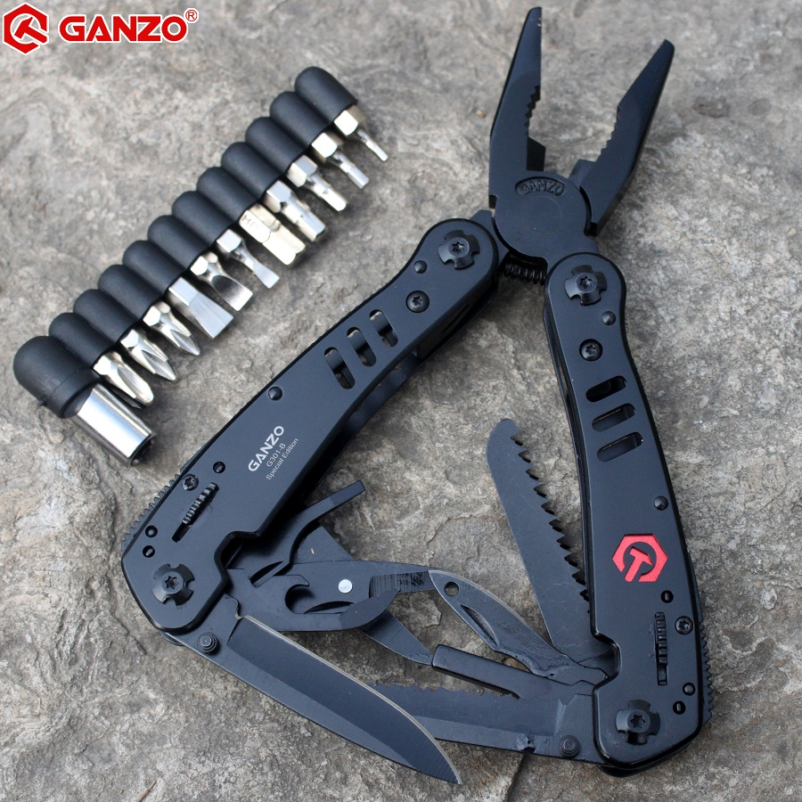 Huntsman Outdoor EDC Pliers Ganzo Tools Camping Plier G301B Knives Folding Multi Fishing Knife Multifunctional Purpose Survival
