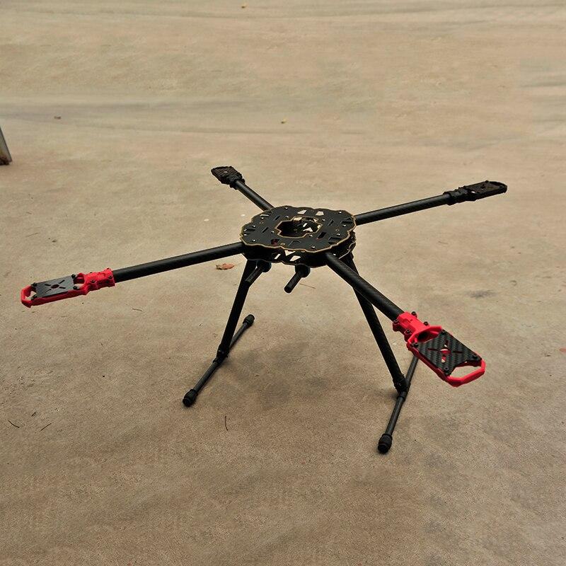 Cadre Multicopter 4 axes quadrirotor en Fiber de carbone pliable Tarot Hummingbird HMF F650 pour cadre de Drone FPV mieux que XA650