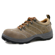 AC13016 Outdoor Steel Toe Cap Protective Safety Shoes Air-permeable Smash Shoe Tip Stainless Woman Boot