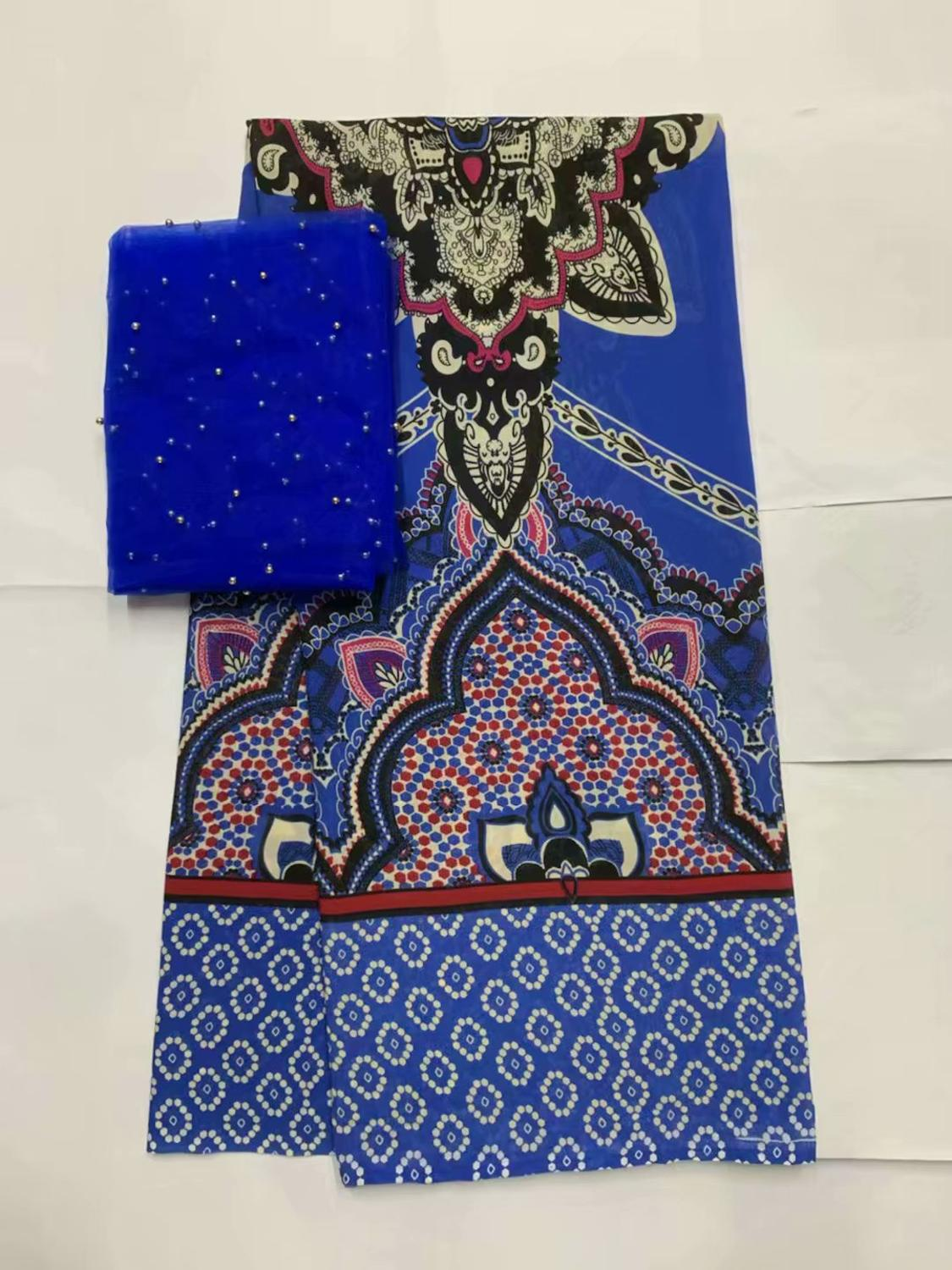 Fashionable and exotic African 100% cotton trim garment material with high quality Swiss yarn lace fabric FF5-21