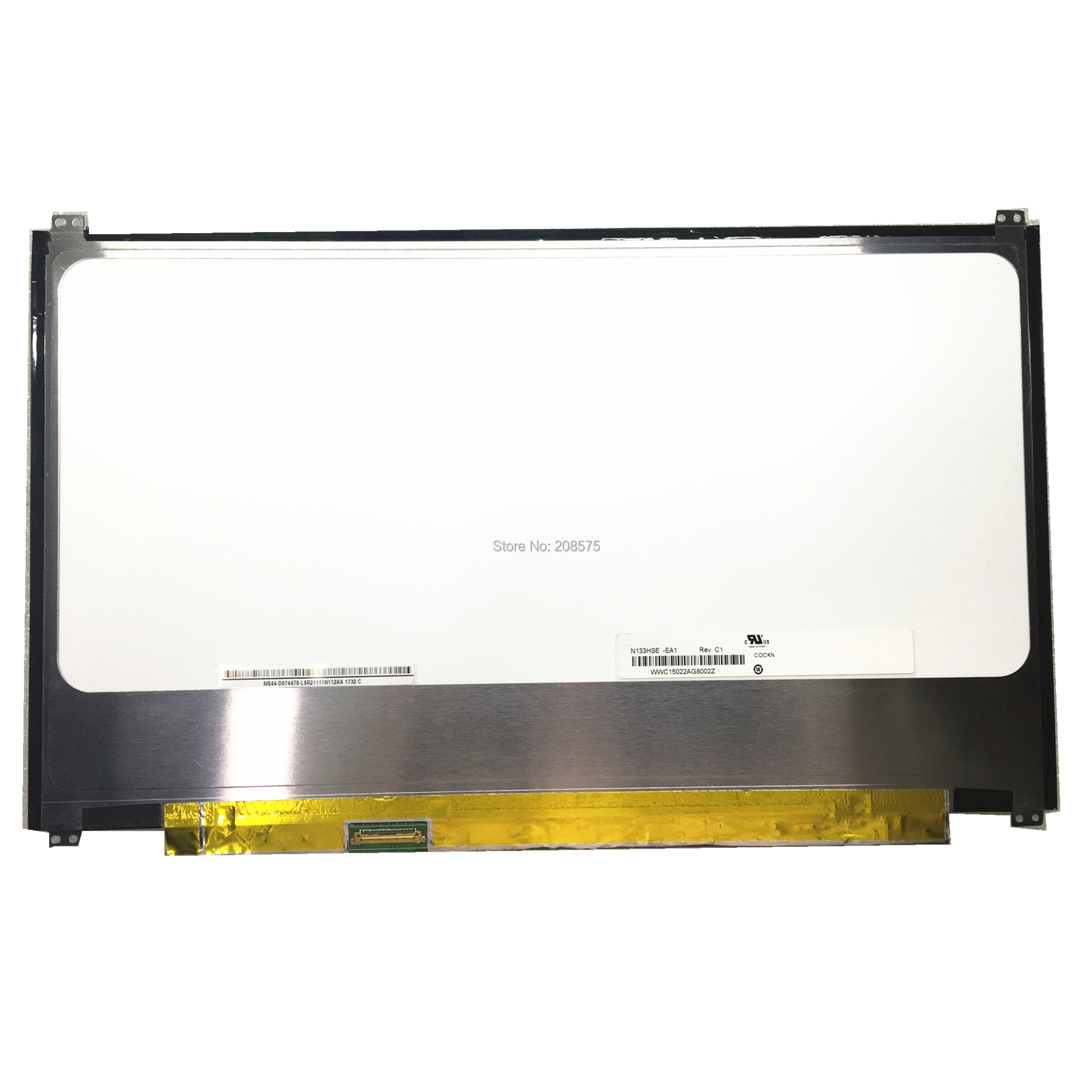 Free shipping N133HSE EA1 N133HSE EA3 for ASUS UX32 UX32VD UX31 UX31A UltraBook Laptop LCD LED