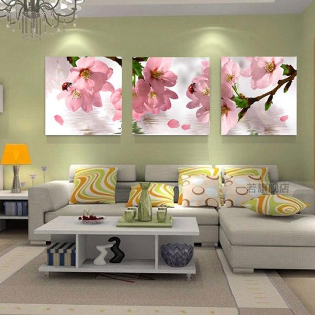 Bloemen Canvas Schilderij Muur Canvas Prints Moderne ...