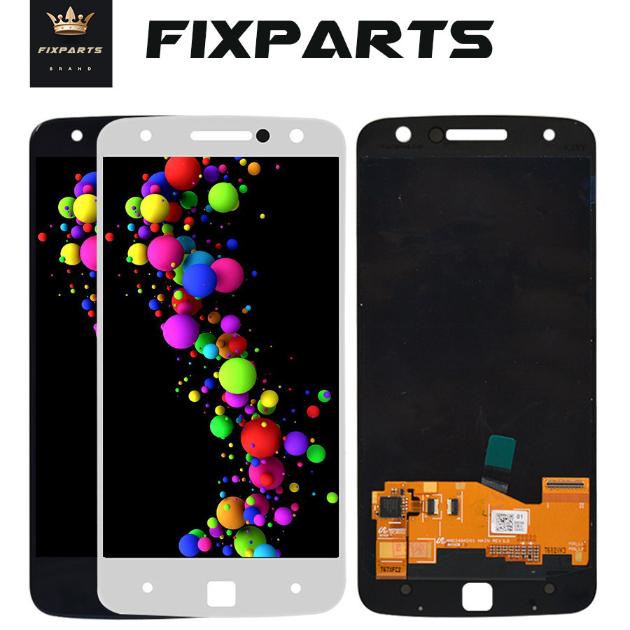 <font><b>LCD</b></font> Display For Motorola Moto Z Droid <font><b>XT1650</b></font> <font><b>LCD</b></font> Display Touch Screen Digitizer Assembly Replacement Parts for moto z <font><b>lcd</b></font> image