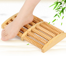 Dual Foot Massage Relaxing Roller Family Health Care Tool Relieve Plantar Heel Foot Pain Stress Acupressure Reflexology Tool