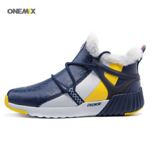 2017 Men's Winter Running Shoes Outdoor Sport Warm Wool Sneakers Male Athletic Shoes zapatos de hombre Men jogging shoes 1205