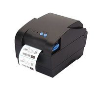 High Speed 127mm S USB Port Barcode Label Printer Sticker Printer Thermal Barcode Printer Bar Code