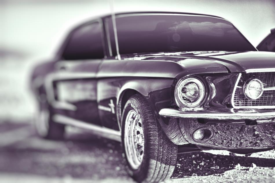 C246 Musclecar Ford Mustang Retro Photo Auto Poster Canvas Art Printing For Home Decor In Painting Calligraphy From Home Garden On Aliexpress Com