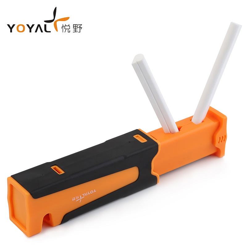 YOYAL Professional outdoor knife sharpener portable Diamond Carbide and Ceramic Knife Sharpening tool afilis cuchillo TAIDEA