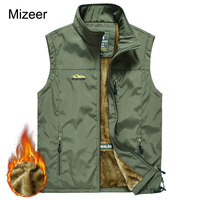 MANLI Jeep 2017 Winter Casual Thin Men S Sleeveless Vest Breathable Multi Pockets Quick Dry Mesh