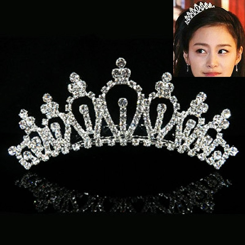 HTB1w53fMVXXXXaRXpXXq6xXFXXXg Majestic Prom Pageant Wedding Bride Bridesmaid Jewelry Comb Tiara - 13 Styles