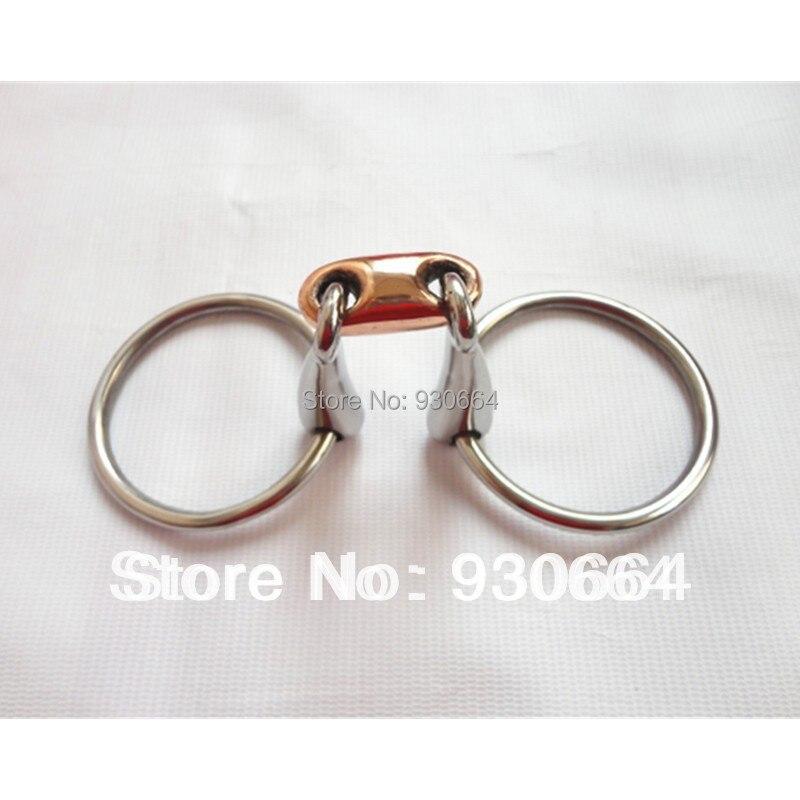 Acier inoxydable mors cheval équipement prix de gros (H0829) 25 pièces par paquet