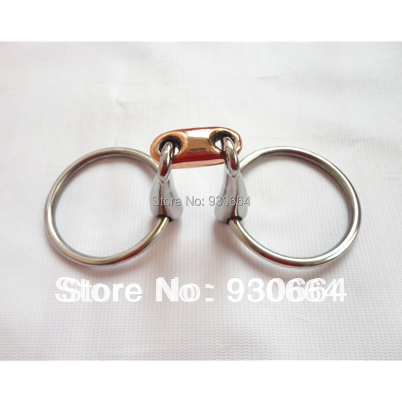 Stainless Steel Snaffle Bit  Horse Equipment Wholesale Price ( H0829 ) 25 Pieces Per Pack