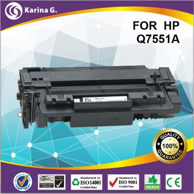 for 51A 7551A Compatible toner cartridge for HP Q7551A for HP LaserJet ,M3027MFP/M3027XMFP/M3035MFP/M3035XS MFP powder for hp laserjet 200 colour 276n mfp powder 200 colour mfp 276mfp high capacity cartridge cartridge toner cartridge