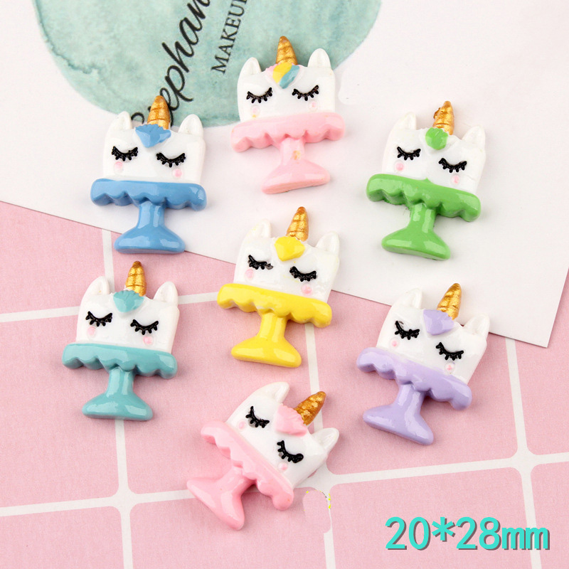 Slime charms 2Pcs Cartoon Polymer Slime Charms Modeling Clay Accesorios Plasticine Toy For Children Slime 1