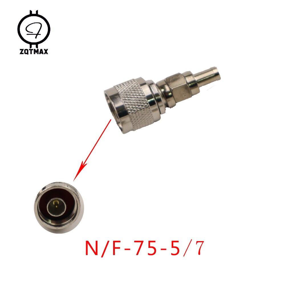 ZQTMAX Variety Of Different Models N KK N JJ N J5/J7 N 75 5/7 N Type Male Female Connector Coaxial Connectors Convert Adapter
