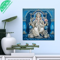 1 Piece Blue Lord Vishnu God Wood HD Printed Canvas Wall Art Posters and Prints Poster Painting Framed Artwork Room Decoration