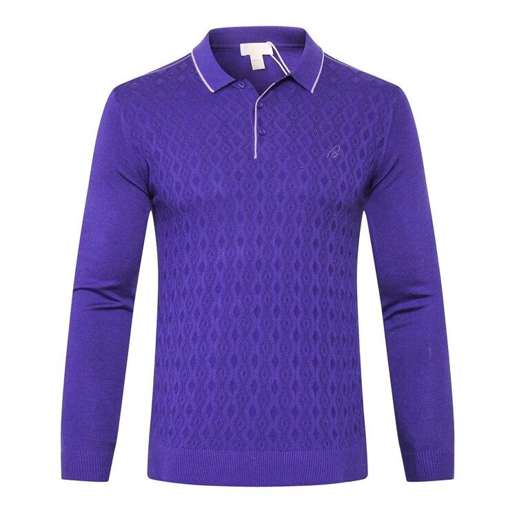 TACE & SHARK Milliardaire de chandail hommes 2018 lancement commerce confort géométrie conçu haute qualité laine gentleman livraison gratuite