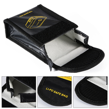 Sunnylife Lipo Battery Explosion-proof Bag Safe Protector Case Fireproof Stroage Box Fiber Protection Pouch for DJI Mavic PRO