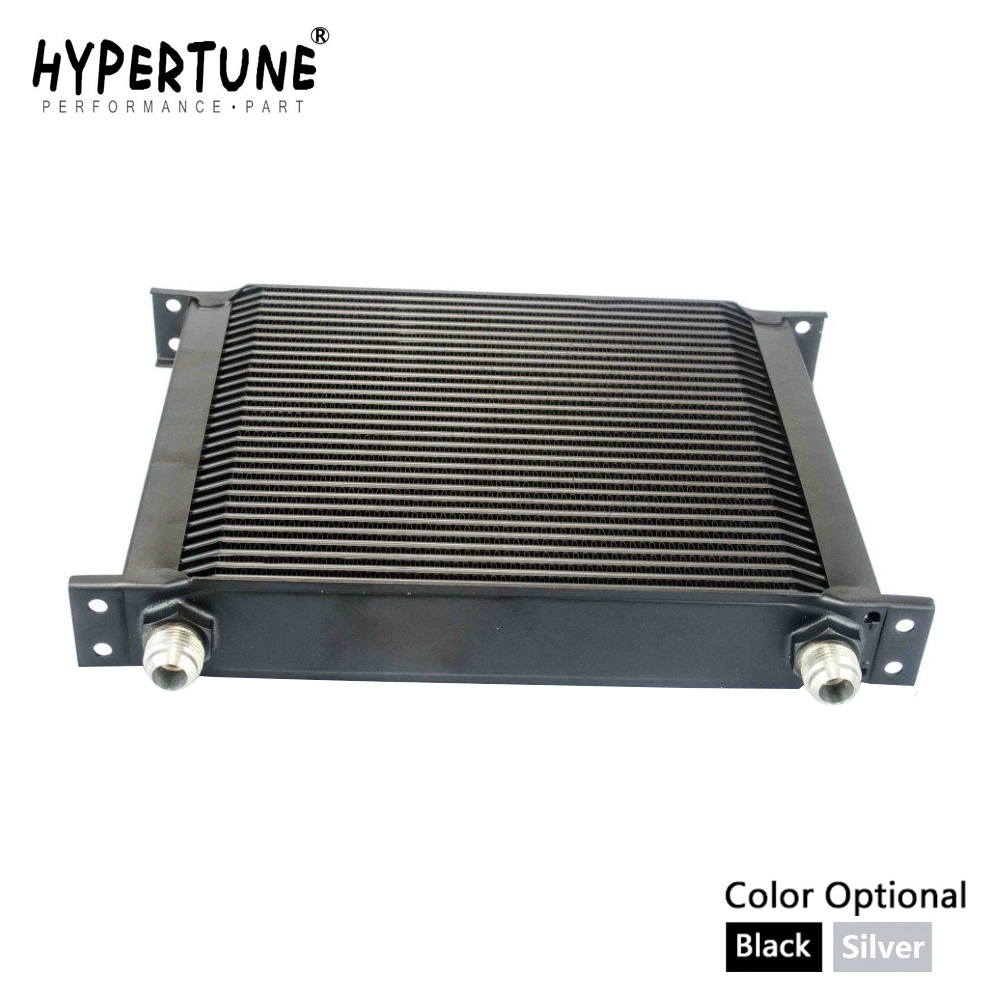 Hypertune 30 行 AN 10AN ユニバーサルオイルクーラーエンジン変速機オイルクーラーキット HT7030  グループ上の 自動車 &バイク からの オイルクーラー の中 1