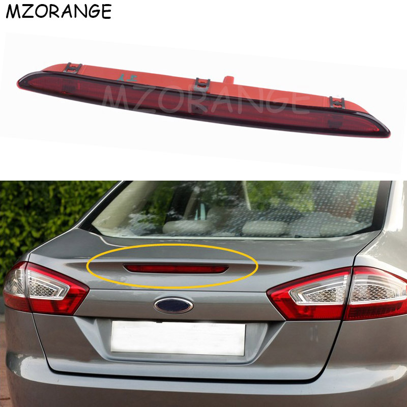 Rear Additional Third Brake Light For Ford Mondeo 2011 2012 2013 High Mount Positioned Brake Light Car styling Center Stop Lamp