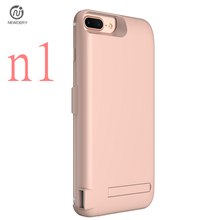 NEWDERY CN Ship N1 Battery case For iPhone 6 6s 7 Plus 5000/7300 mAh External USB Power bank Charged backup Charger