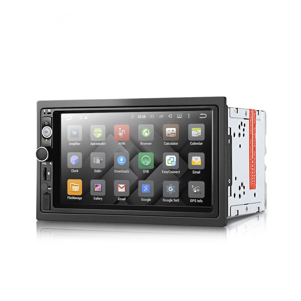 Iconnapp Original Remax Ming Series 3 Plus 4usb Socket Ru S2 Eu Style Dy7098 2din Car Dvd Mp5 Player Android 71 System Hd Tft Lcd Touch Screen Radio Wifi Gps Navigation Multimedia
