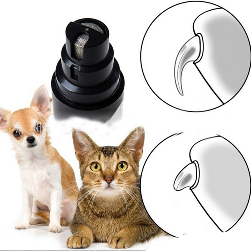 Professional Dog Cat Electric Claw Nail Grooming Tool Pet Toenail Grinder Clipper Auto Pedicure Equipment Charged Pet Trimmers2