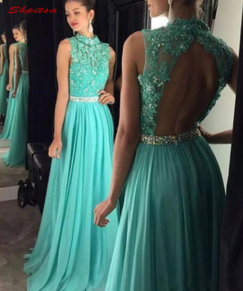 Mint Green Mother Of The Bride Dresses For Weddings Party Chiffon Crystal Beaded Plus Size Prom Evening Groom Godmother Dresses
