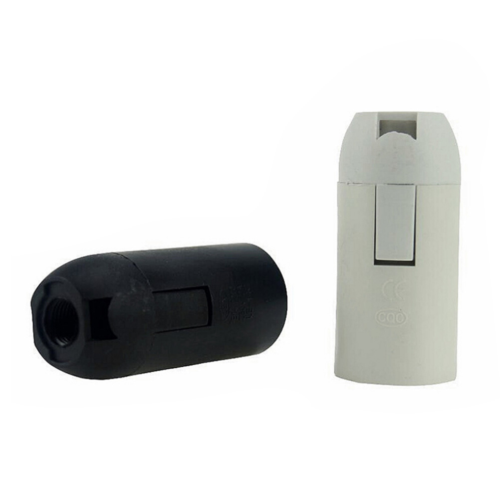 Hot New Small Screw E14 LED Plastic Lamp Holder Edison Screw Light Bulb Socket Holder DIY Socket Base Lamp Accessories Luminaire