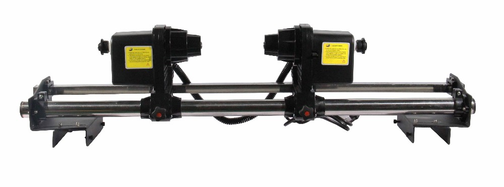 Strong power paper take up system with double motors for epson roland mutoh mimaki printer good quality strong power double motor printer paper take up roller system for roland printer