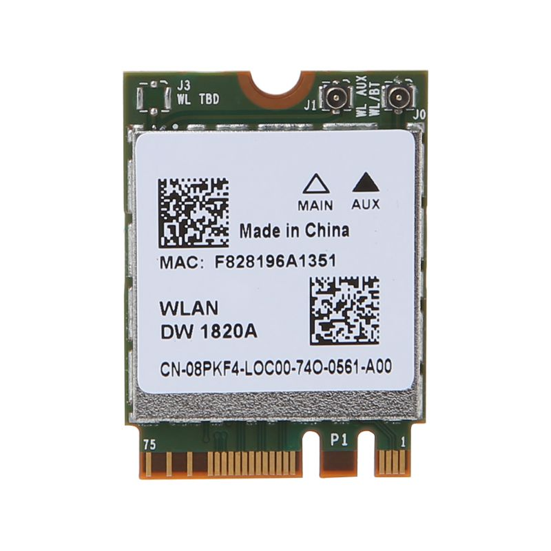 BCM94350ZAE Bluetooth 4.1 M.2 NGFF WiFi Wireless Card For Dell Laptop Computer