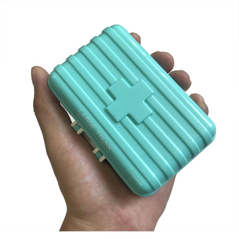 Pílula Cases e Divisores pílula caixa de comprimidos de Tipo de Ítem : Travel Pill Box Organizer