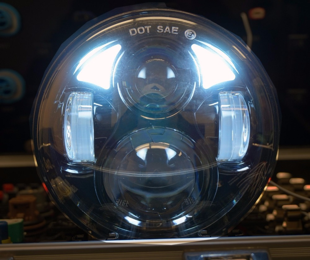 New promotion!! car Accessories 5.75 headlight motorcycle 5 3/4 led headlight