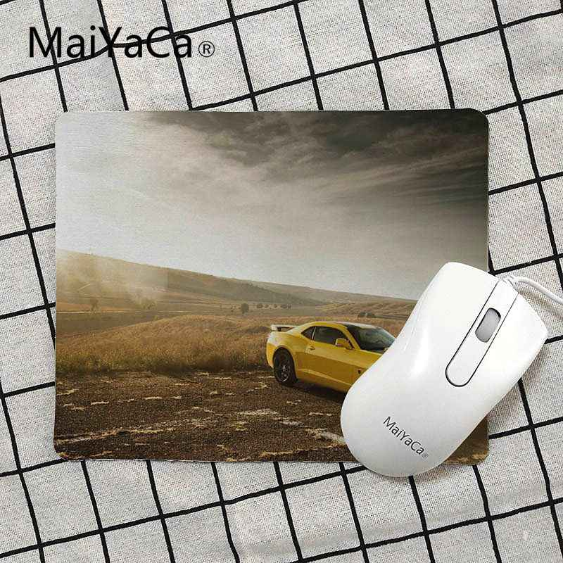 MaiYaCa Vintage Cool Cool Yellow Sport Car Laptop Computer Mousepad Size for 18x22cm 25x29cm Rubber Mousemats