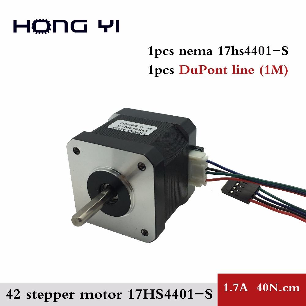 Free shipping nema17 stepper motor 42 motor nema 17 motor for Nema 17 stepper motor datasheet