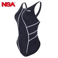NSA Swimwear Women Girls One Piece Suits Swimsuits Arena Swimsuit One Piece Swimwear Kids Competitive Swimming