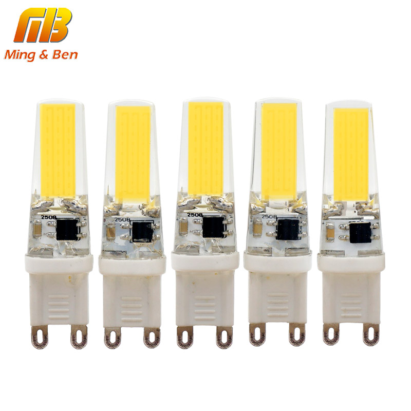 Mingben 5pcs G9 Led Bulb Dimmable Corn Spotlight Ac 220v