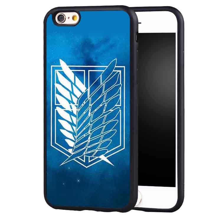 Beautiful Anime Attack on Titan case cover for Samsung Galaxy s4 s5 s6 S7 edge S8 plus note 2 3 4 5