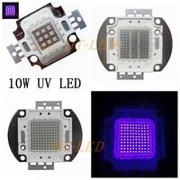 Freeshipping High Quality 1PCS 10W 20W 30W 50W 100W 45MIL UV 395 400nm LED Purple Light