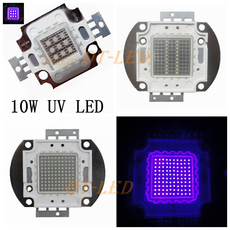 UV Purple LED Ultraviolet Bulbs Lamp Chips 365nm 375nm 380nm 385nm 395nm 400nm 405nm 3W 5W 10W 20W 30W 50W 100W High Power Light htton uv purple led integrated chips 365nm 375nm 385nm 395nm 405nm high power cob ultraviolet lights 3 5 10 20 30 50 100 watt
