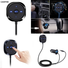 Bluetooth 4.0 Беспроводной Музыкальный Приемник 3.5 мм Адаптер Handsfree Car AUX Динамик wwg