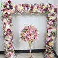 SPR свадебные арки настольная дорожка цветы стены сценический фон декоративные оптовая продажа искусственный цветок стол центральный 10 шт./...
