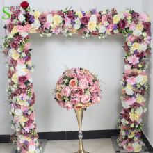 SPR wedding arch table runner flower wall stage backdrop decorative wholesale artificial flower table centerpiece 10pcs/lot