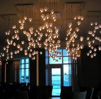 Meteor shower Large DIY Water drop Crystal Pendant Light European style Luxury LED Lamps Moderm Glass Indoor Lighting Restaurant