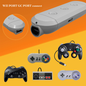 Image 2 - Wireless Bluetooth GC Adapter For Gamecube/Wii/NES/SNES Classic Controller To Nintend Switch Nintend and PC Turbo Capture