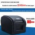 Высокая Скорость USB порт этикетки принтер штрих-кода Тепловой Стикер Принтера Одежды этикетки машина Xprinter XP-360B