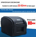 High Speed USB port label printer barcode printer Thermal Sticker Printer Clothing label machine Xprinter XP-360B